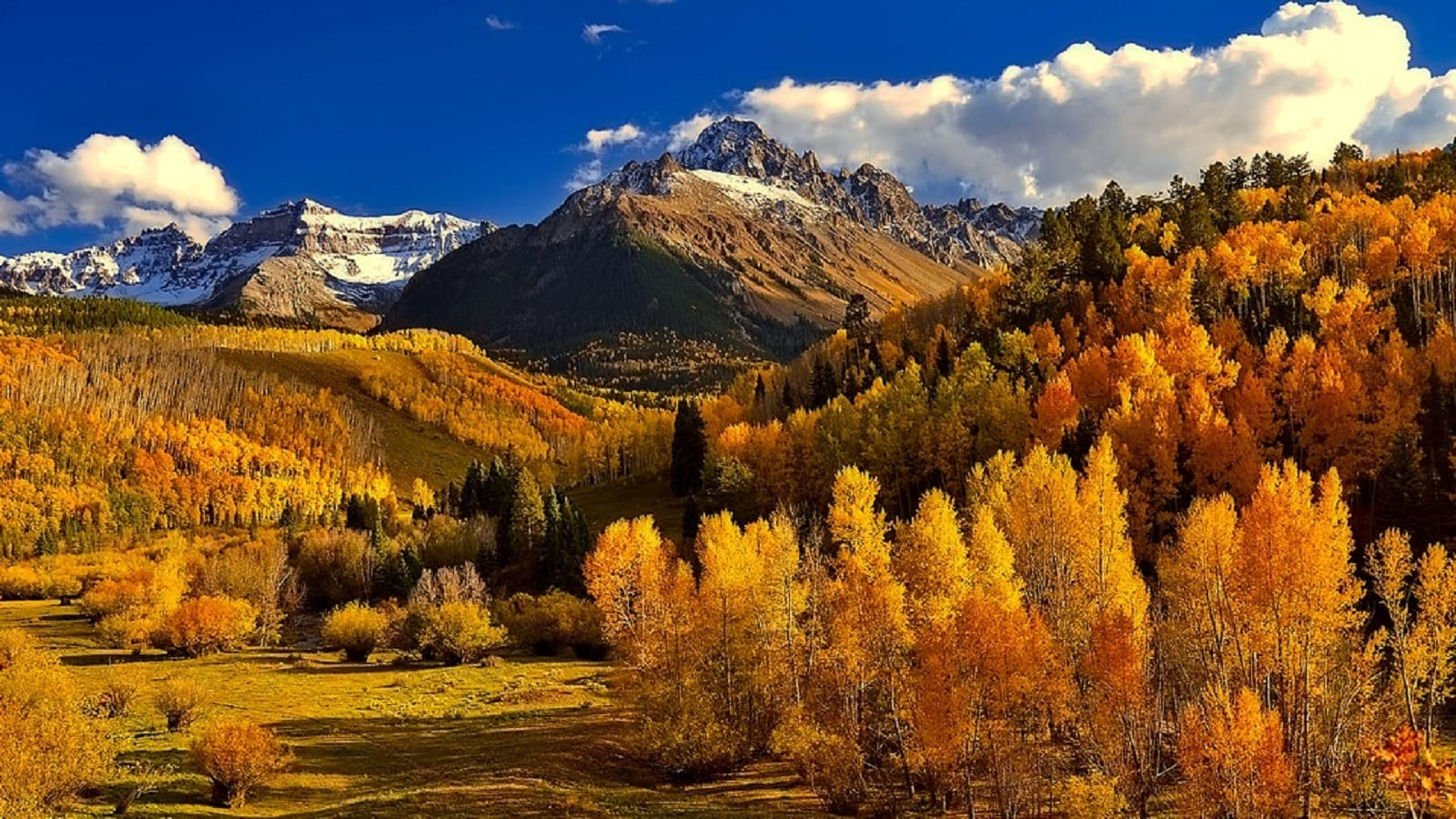 Beautiful Colorado Mountains Stock Photo